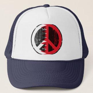 Peace In Bahrain Trucker Hat