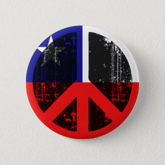 Peace In Chile 6 Cm Round Badge