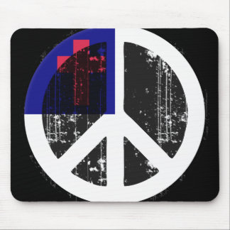 Peace In Christian Mouse Mats