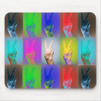 PEACE in color mousepad