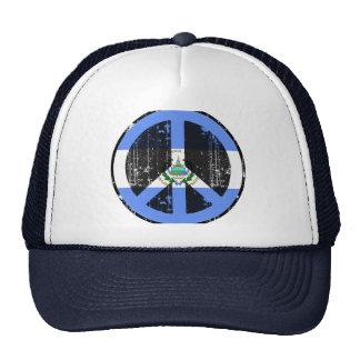 Peace In El Salvador Trucker Hat
