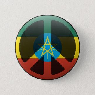 Peace in Ethiopia 6 Cm Round Badge