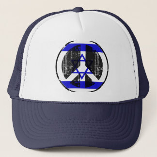 Peace In Israel Trucker Hat