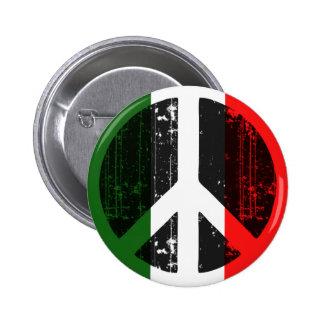Peace In Italy 6 Cm Round Badge