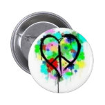 Peace In Love Pins