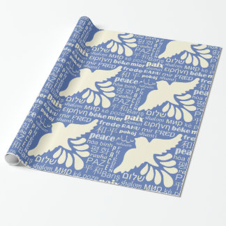 PEACE in many languages wrapping paper