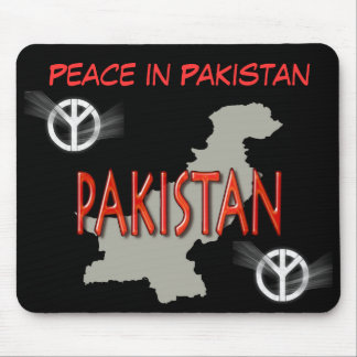 Peace in Pakistan mousepad