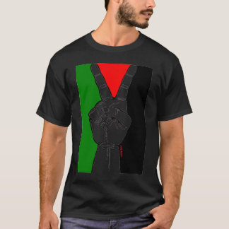 Peace in Palestine (black) T-Shirt