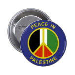 Peace in Palestine Button