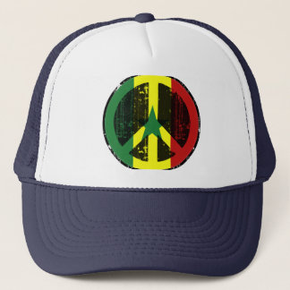 Peace In Senegal Trucker Hat