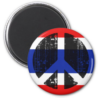 Peace In Thailand Magnet