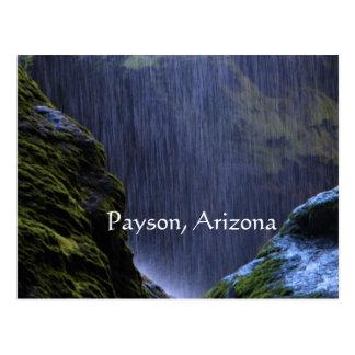 peace in the falls postcard Payson, Arizona
