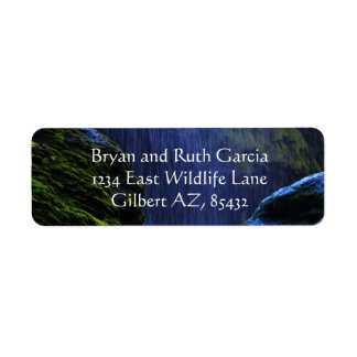 peace in the falls return address label