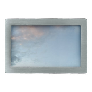 Peace in the midst of a storm rectangular belt buckle