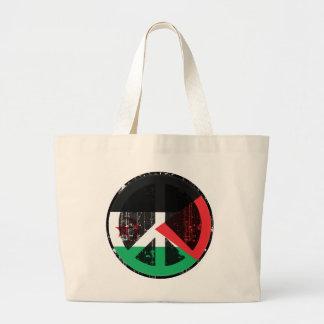 Peace In Western Sahara Tote Bags