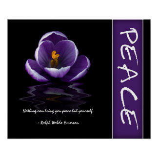 Peace Inspirational Poster