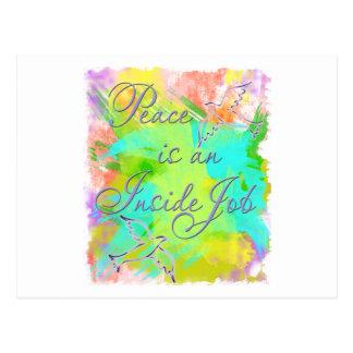 Peace is an Inside Job Postcards