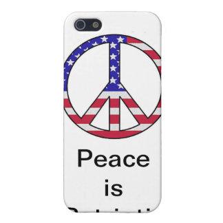 Peace is Patriotic iPhone 5 Cases