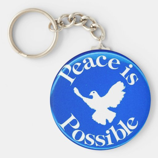 Peace is Possible - Keychain