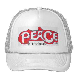 Peace Is The Word Cap