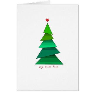 Peace Joy and Love Card
