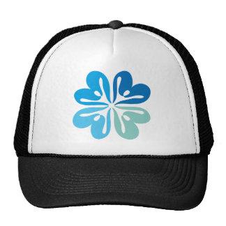 Peace & Joy Flower Trucker Hats