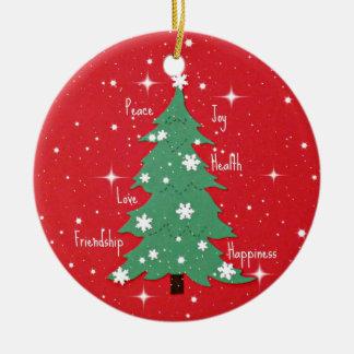 Peace, Joy, Happiness, Love... Ornaments