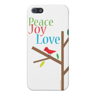 Peace Joy Love Hope Covers For iPhone 5