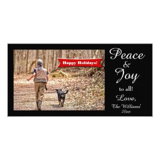 Peace & Joy to all! Fun Holiday Card