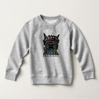 Peace Kat BuddaKats Toddler Fleece Sweatshirt
