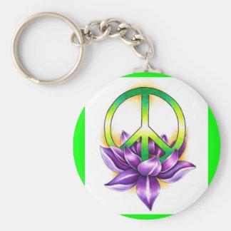 Peace Key Ring