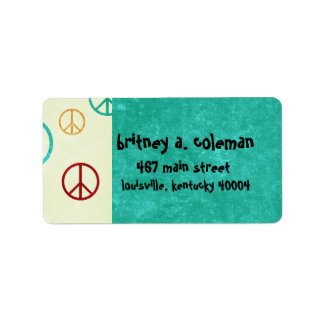 peace label