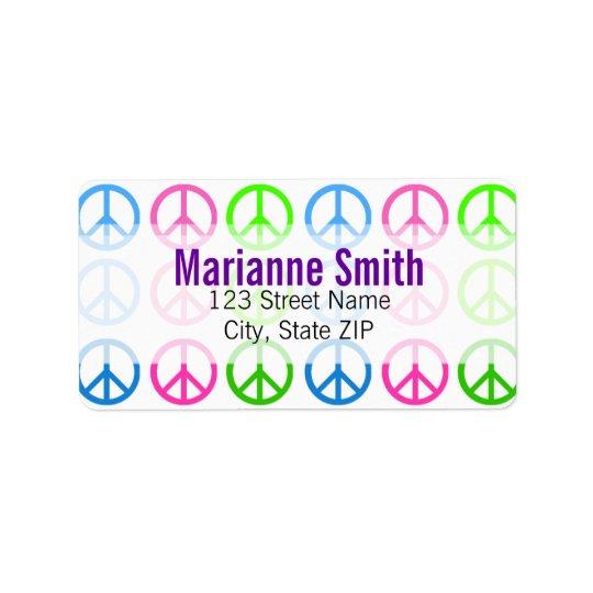 Peace Label