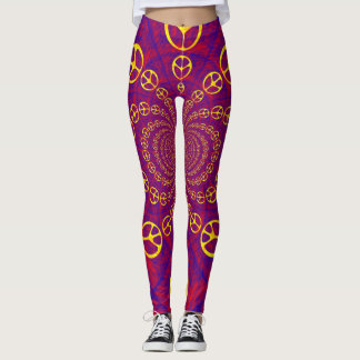 """Peace"" Leggings"