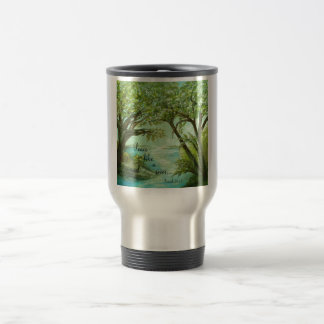 Peace  Like a River Travel Mug