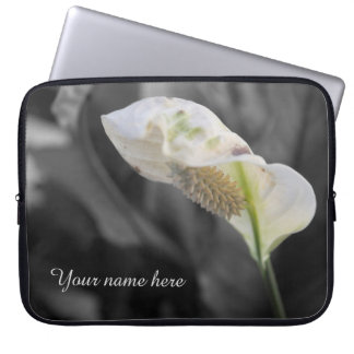 Peace Lily - Selective Color Laptop Sleeve