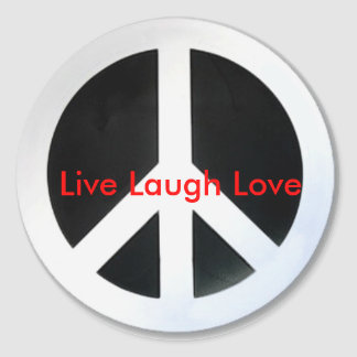 peace, Live Laugh Love Stickers