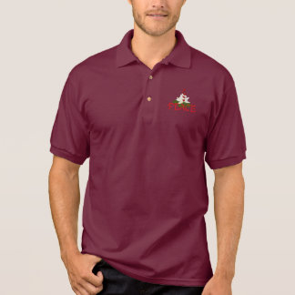 Peace Lotus Polo Shirt