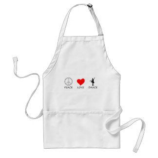 peace love12 standard apron