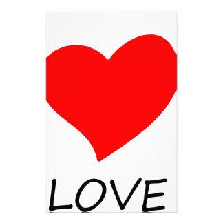 peace love12 stationery