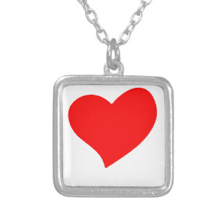 peace love13 silver plated necklace