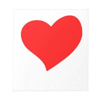 peace love15 notepad