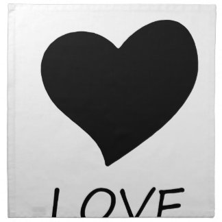peace love18 napkin