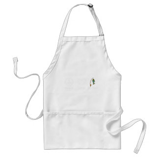peace love19 standard apron