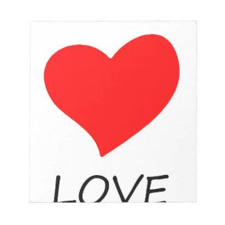 peace love20 notepad