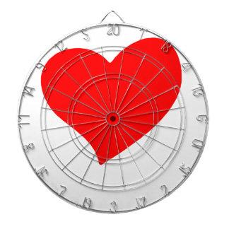 peace love21 dartboard