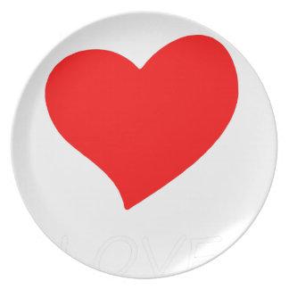 peace love21 plate