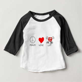 peace love22 baby T-Shirt
