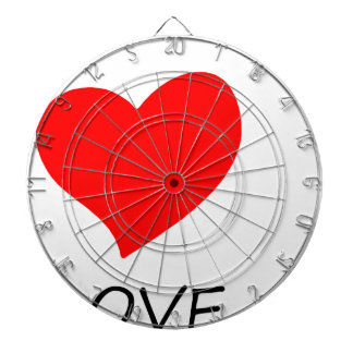 peace love22 dartboard