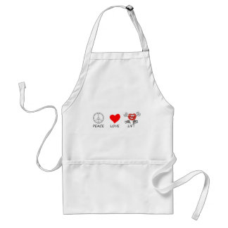 peace love22 standard apron